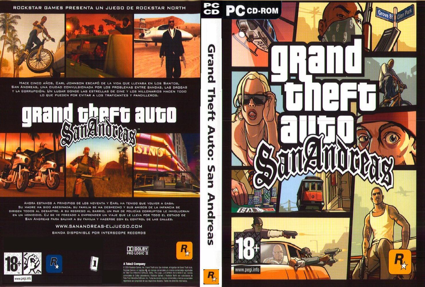 Grand Theft Auto San Andreas  Pc Game   Depositfile