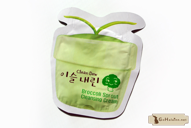 TonyMoly Clean Dew Broccoli Sprout Cleansing Cream Review
