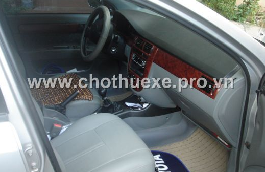 Cho thuê xe Daewoo Lacetti EX