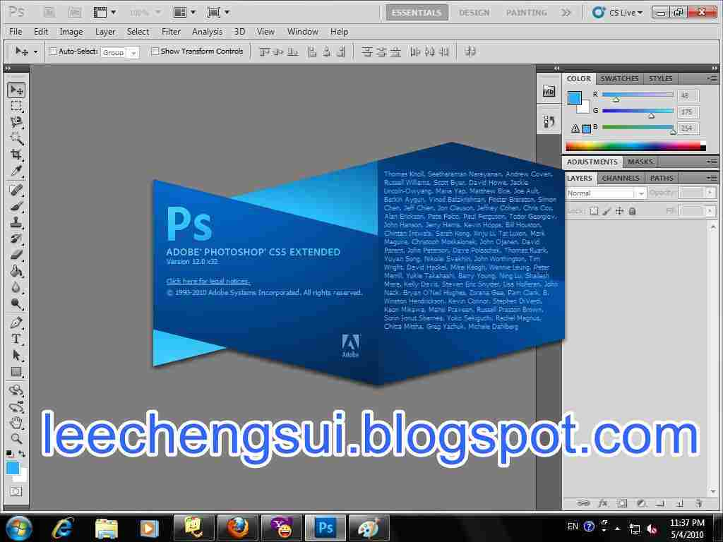 Adobe photoshop cs5 extended v12.09 final portable