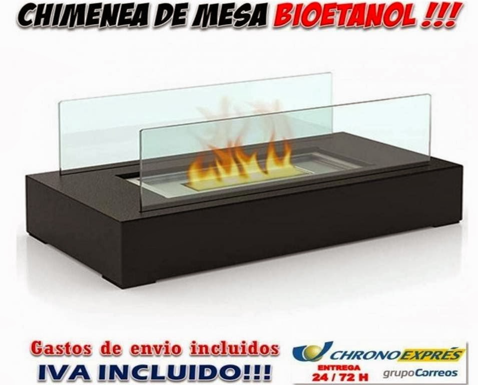 Comprar chimeneas bioetanol sobremesa decorativas chimeneas de mesa - Cuanto consume una chimenea de bioetanol ...