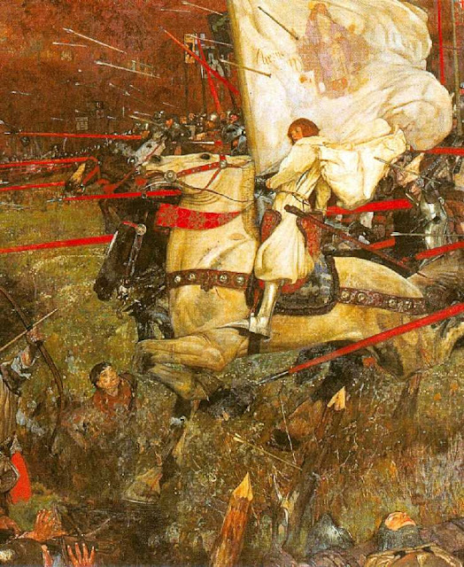 Santa Joana d'Arc comanda a vitória de Patay