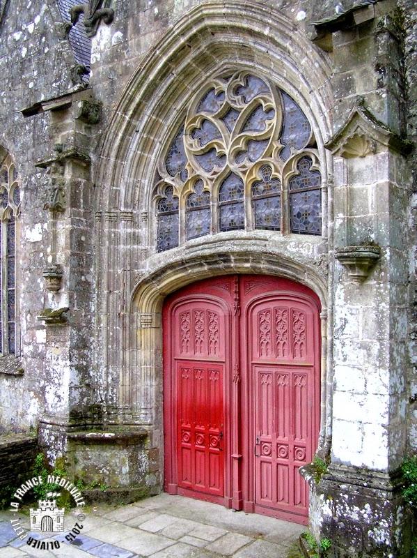 ROCHEFORT-EN-TERRE (56) - Collégiale Notre-Dame-de-la-Tronchaye