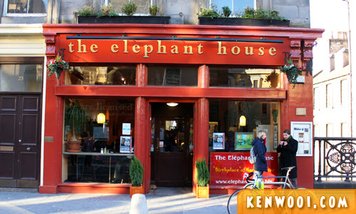 edinburgh elephant house