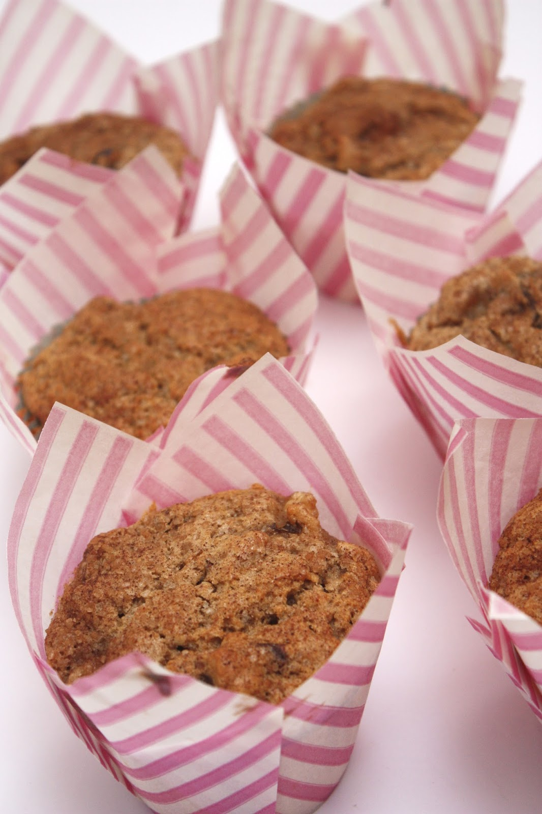 meg-made gluten free banana date and cinnamon muffins
