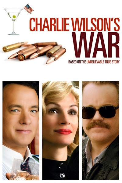 Charlie Wilson's War (Released in 2007) - About the Afghanistan war - Starring Tom Hanks, Julia Roberts, and Philip Seymour Hoffman