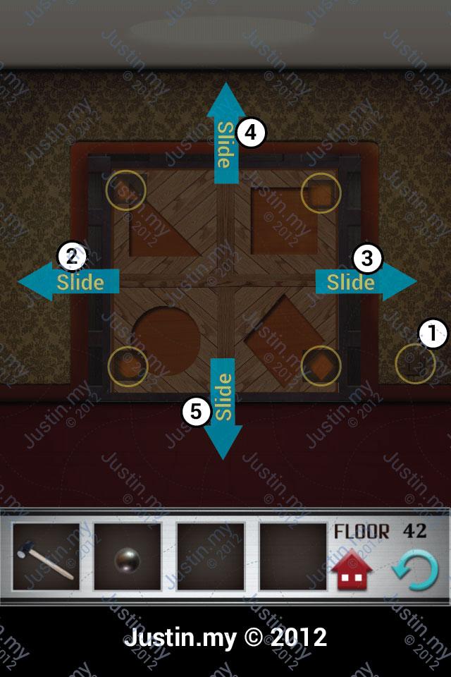 100 Floor Level 41 42 43 44 45 Answer 100 Floors Answer