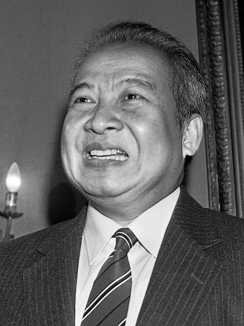 Norodom Sihanouk en 1983. Photo Wiki Commons