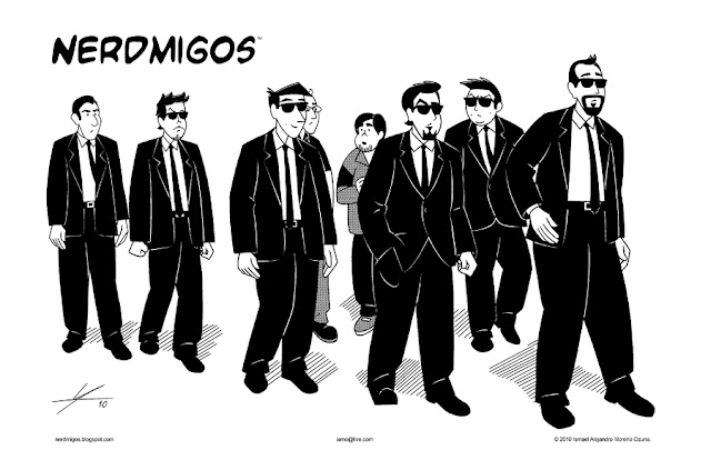 Nerdmigos Reservoir Nerds by IAMO
