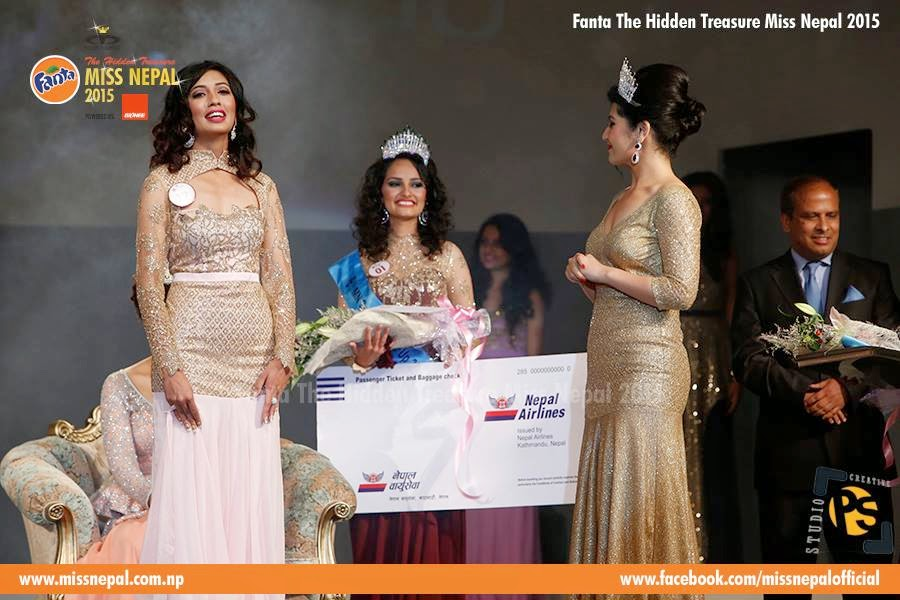 Miss Nepal International 2015 Medha Koirala