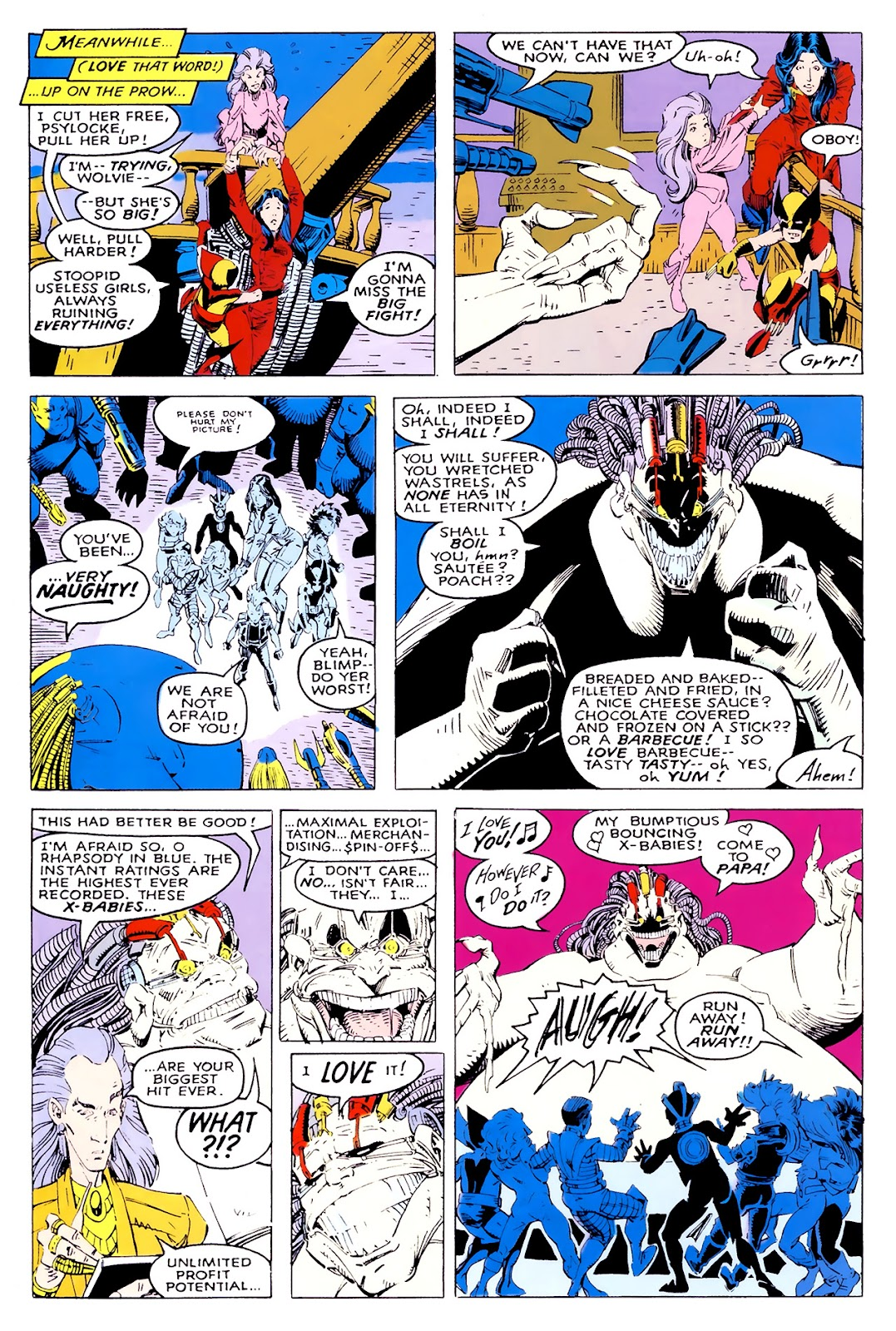 Read online X-Babies comic -  Issue #1 - 37