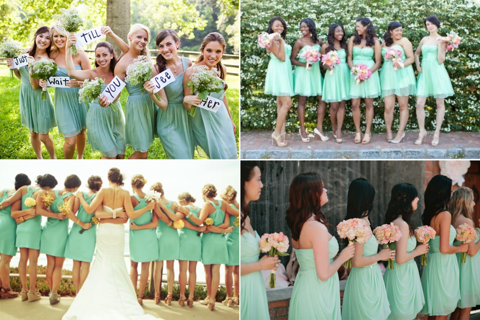 Prom dress 2014 if you love white wedding dress better than mint wedding dressmint bridesmaid dresses are necessary for your weddingwhatever long or short bridesamaid ombrellifo Choice Image