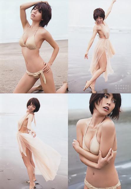 釈由美子 Yumiko Shaku Big Comic Spirits Pictures 4