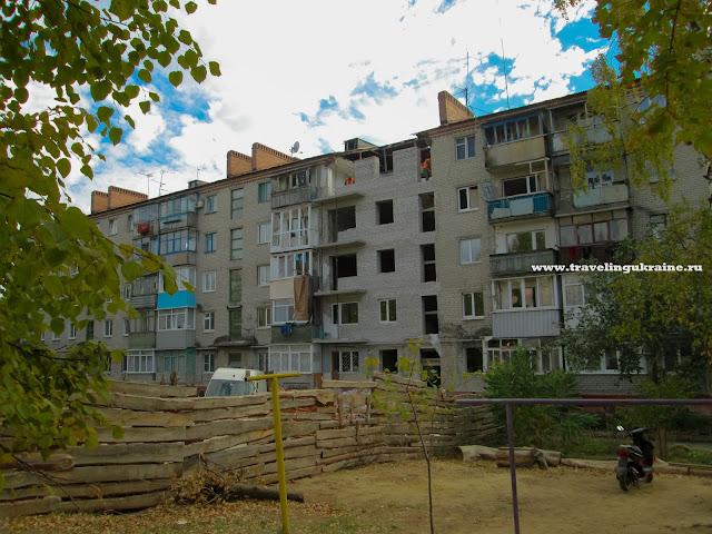 Восстановление Славянска, Октябрь 2015, Бульварная, 4