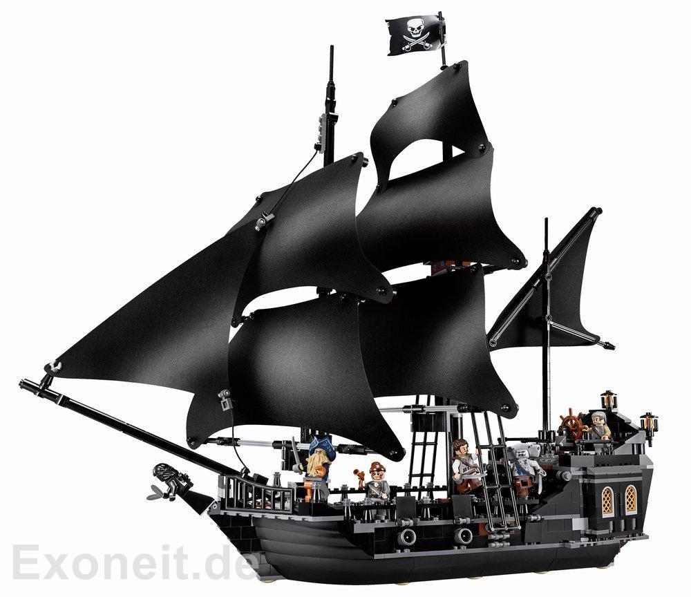Double Brickmania Lego Pirates Of The Caribbean Black