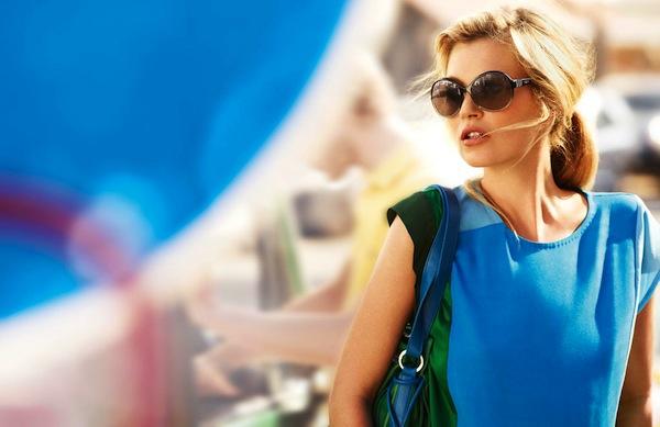 Kate Moss Vogue Eyewear Fashion ~ Violet Fashion Art