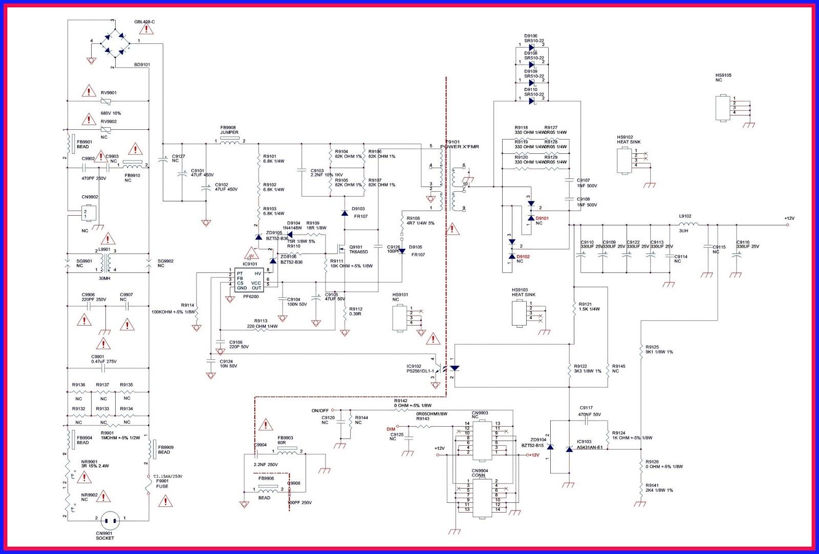 Схемы блоков питания самсунг bn44 18