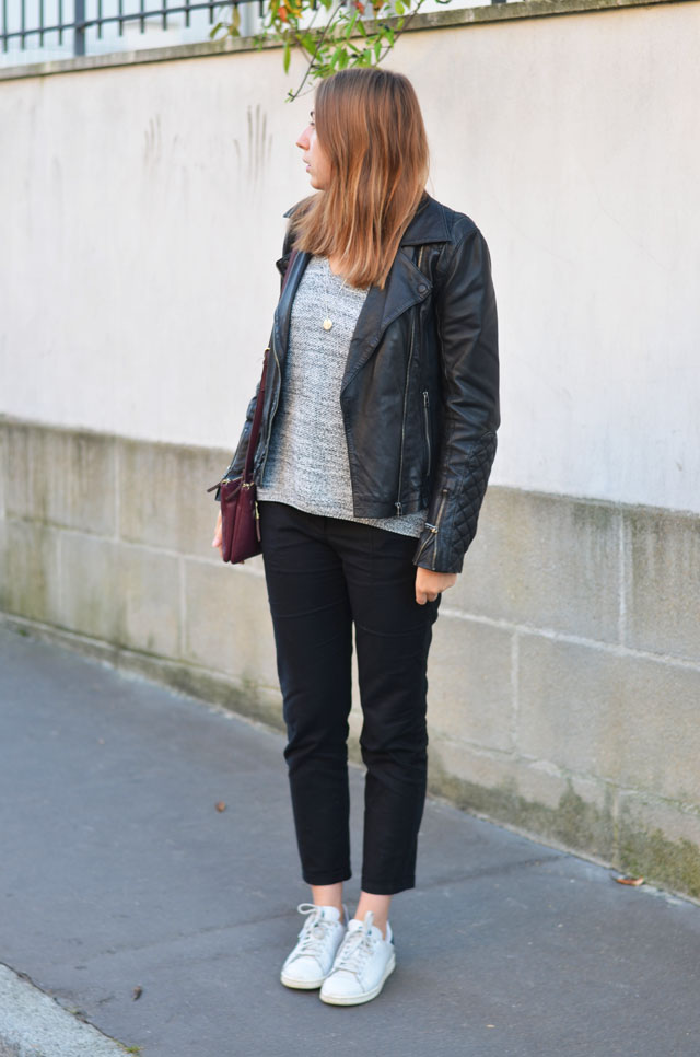 tenue look blog mode stan smith