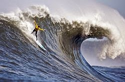 Surfin in Mavericks