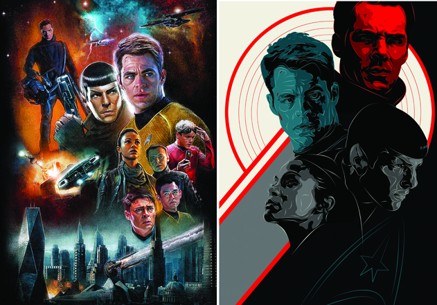Star Trek Into Darkness: The Print Posse's Posters