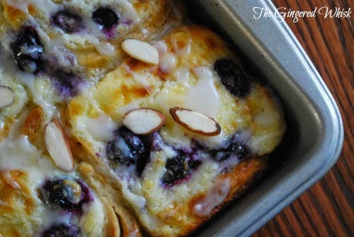 Blueberry Cream Cheese Rolls (The Gingered Whisk)