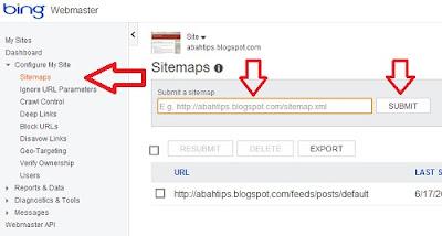 Cara Cepat Mendaftar Blog ke Bing - Yahoo Search Engine