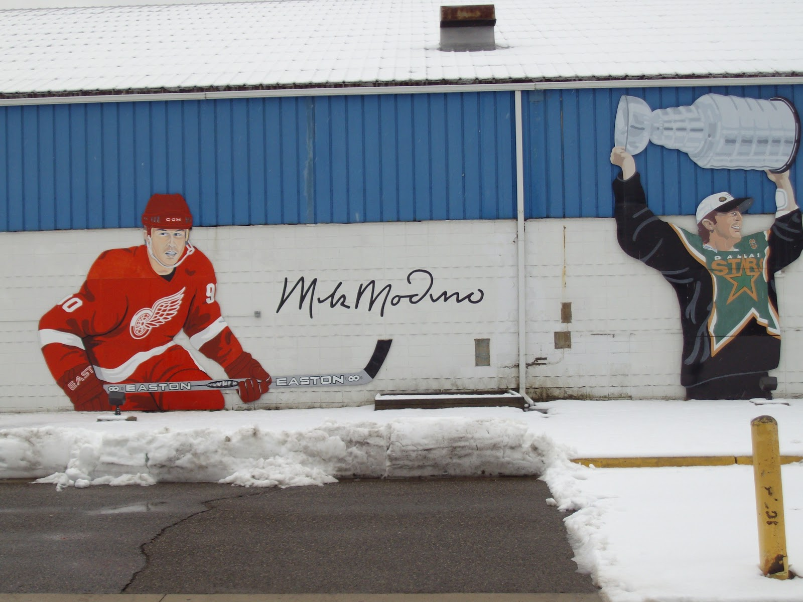 mitten state sports report hockey night in westland hockey night in westland