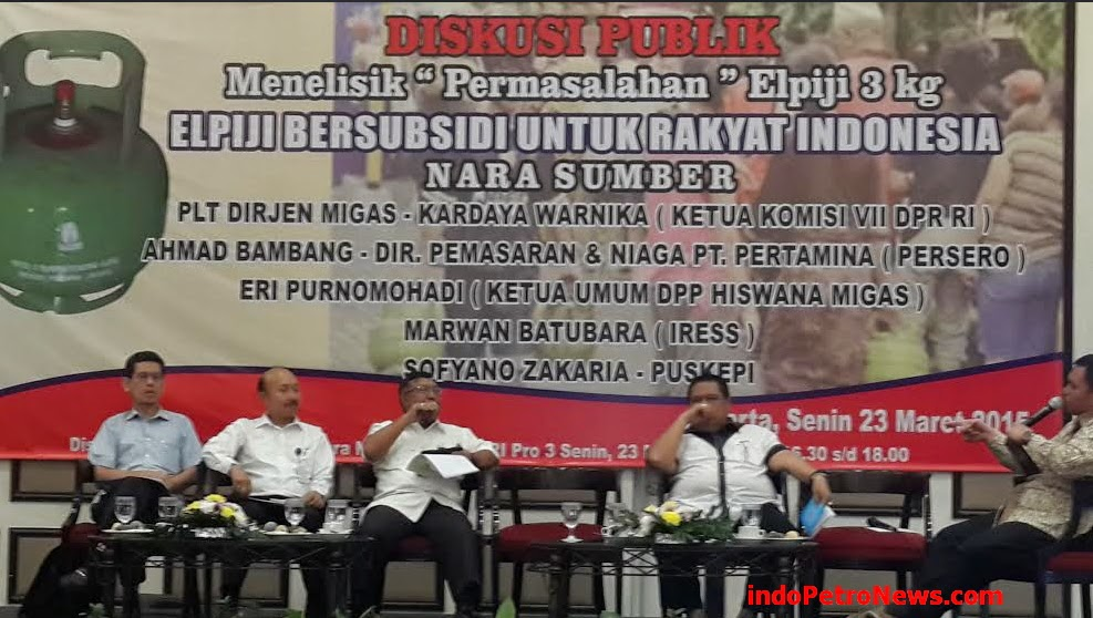 Diskusi Publik Elpiji Bersubsidi