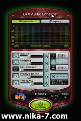 DFX Audio Enhancer v11.112 Final Full Skin