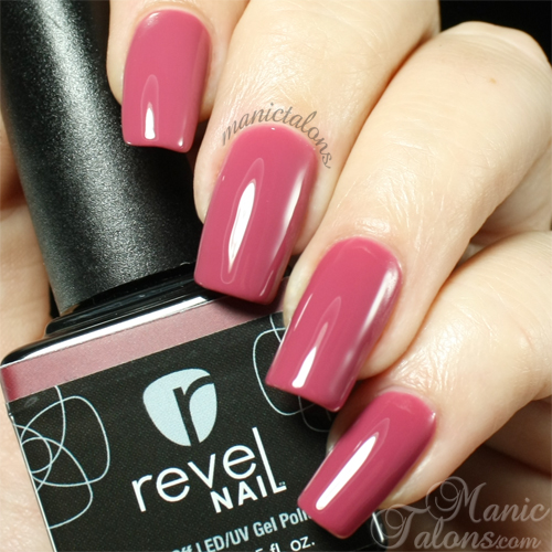Revel Nail Gel Polish Passion Swatch