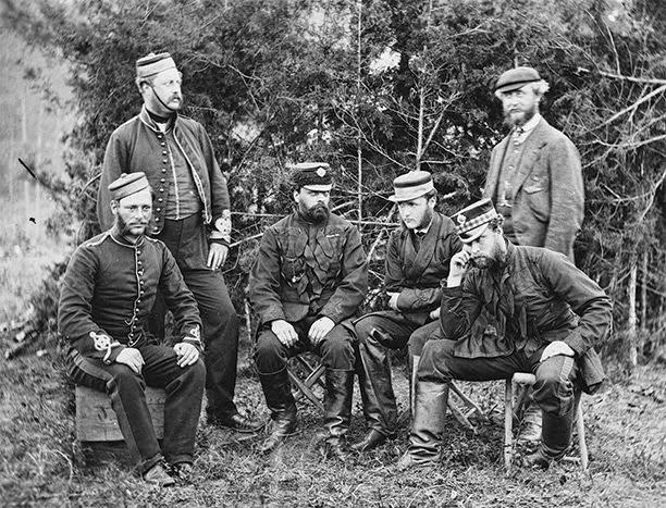 Guerra Civil Estadounidense - soldados británicos