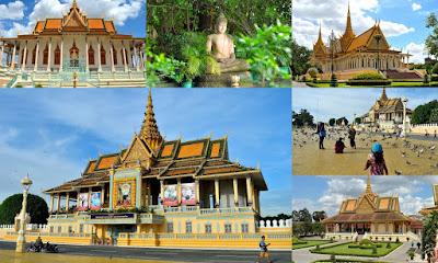 grand royal palace phnom penh cambodia silver pagoda