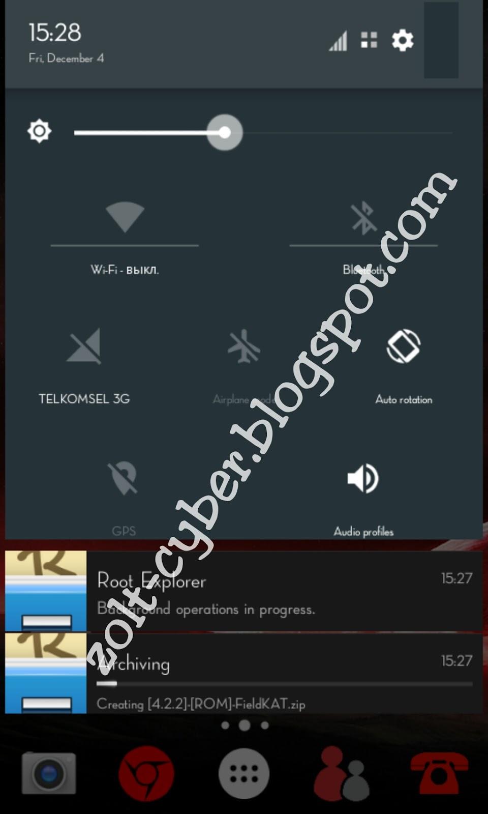 Custom Rom Fieldkat For Mt6572 422 Jelly Bean The Jowonymouz Evercoss A28b Screenshoot