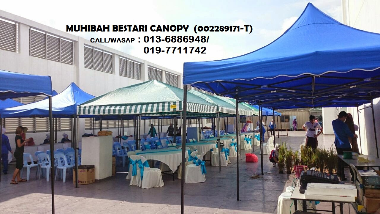 PERKHIDMATAN SEWA KHEMAH 10'x10' (khemah pasar malam) Lembah Klang, Negeri Sembilan dan Perak