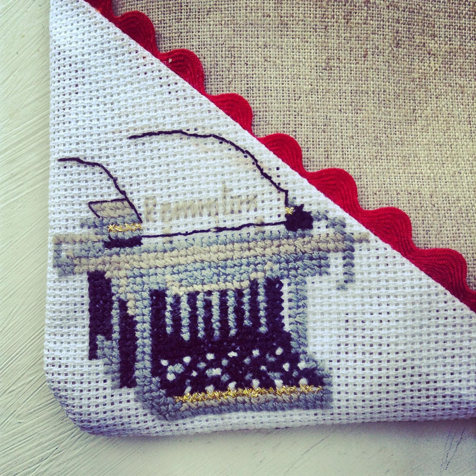 machine à écrire remington au point de croix