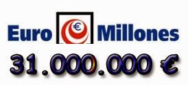 Sorteo de Euromillones del martes 1 de julio de 2014