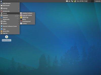 Xubuntu 1204 software center
