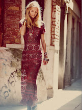 Free People Crochet Maxi Dress
