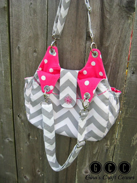 Bella Bag by Gina's Craft Corner