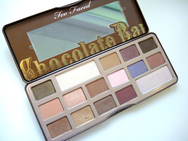 Two Faced Chocolate Bar Palette Review and Swatches
