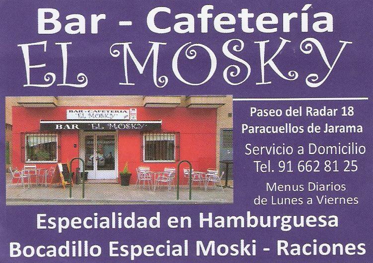 BAR CAFETERIA  EL MOSKY