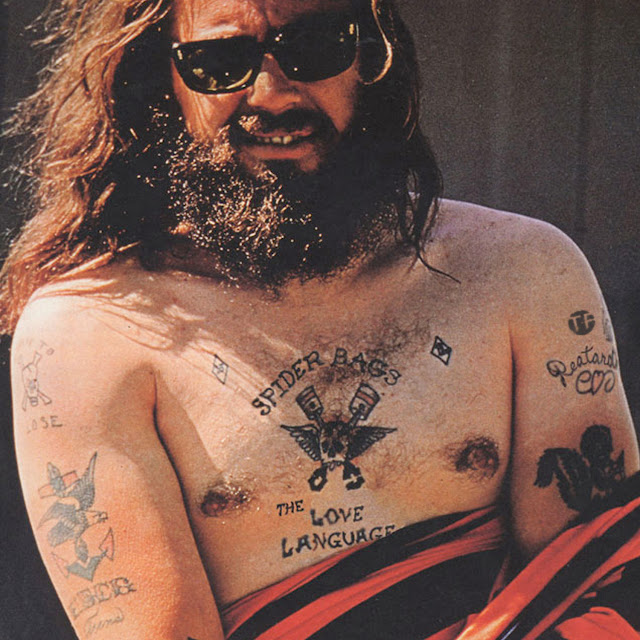 Does sonny barger of the hells angels approve hipster for Hells angels tattoos pics