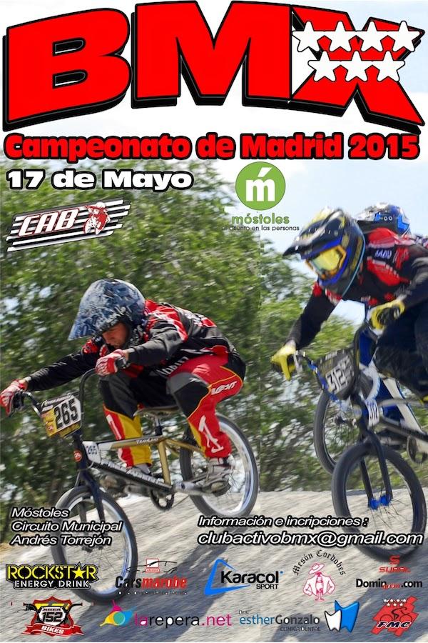 El próximo domingo el Campeonato de Madrid de B.M.X. - Rueda Lenticular