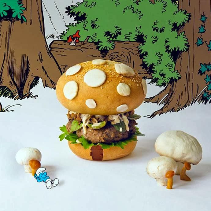 Smurfburger