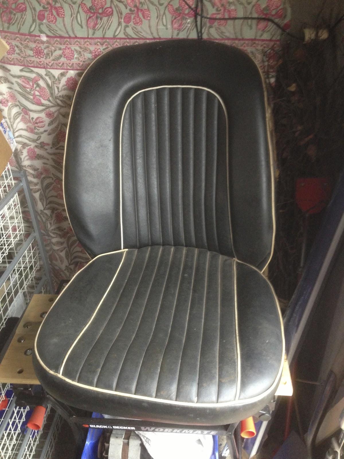 Mk3 Spitfire Seat Renovation