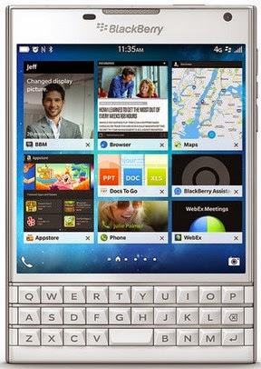 Spesifikasi dan Harga Blackberry Passport