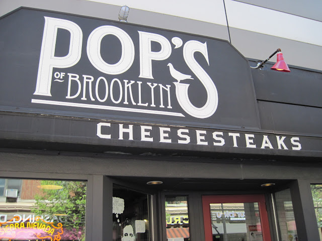 And for the Pops in the crowd, don't forget to chow down on a cheesesteak at Pop's of Brooklyn
