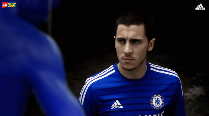 Eden Hazard Jersey Grade Ori Chelsea Home Terbaru Official Musim 2014-2015