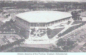History of the Pontiac Stadium (Silverdome)