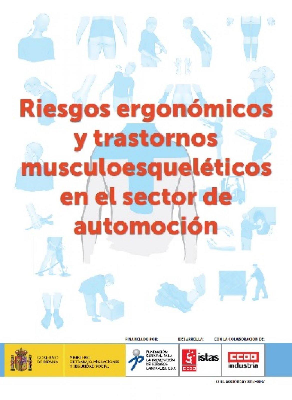 Riesgos ergonomicosy transtornos muscoesqueleticos en el sector de automoción